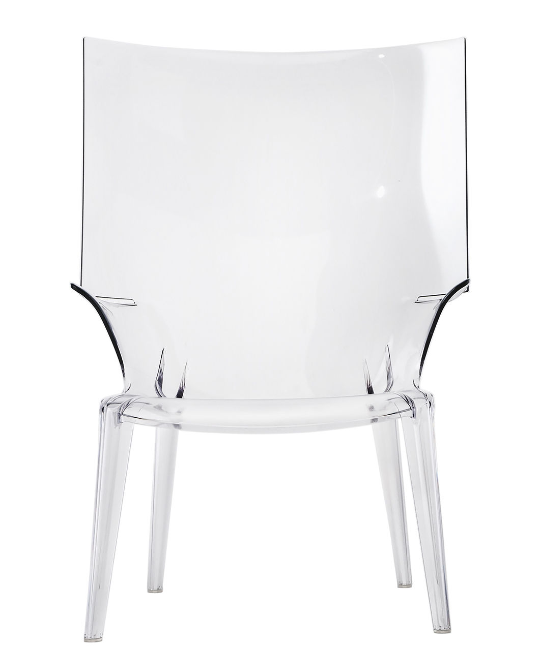 Furniture - Armchairs - Uncle Jim Armchair by Kartell - Clear - Polycarbonate