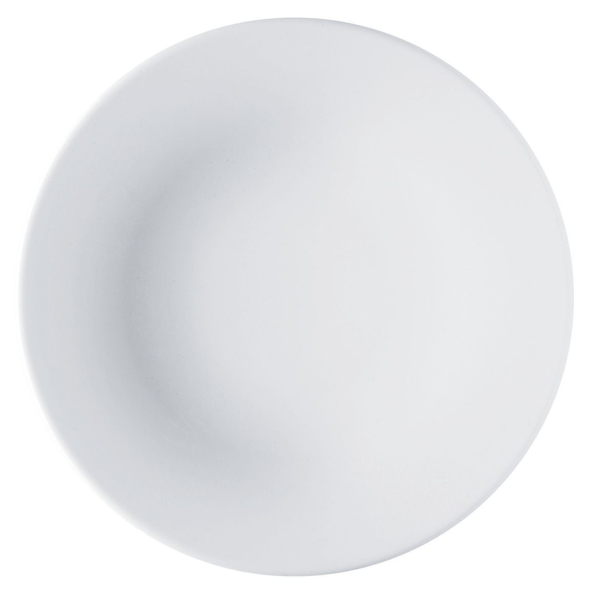 Arts de la table - Assiettes - Assiette Ku - Alessi - Blanc - Porcelaine