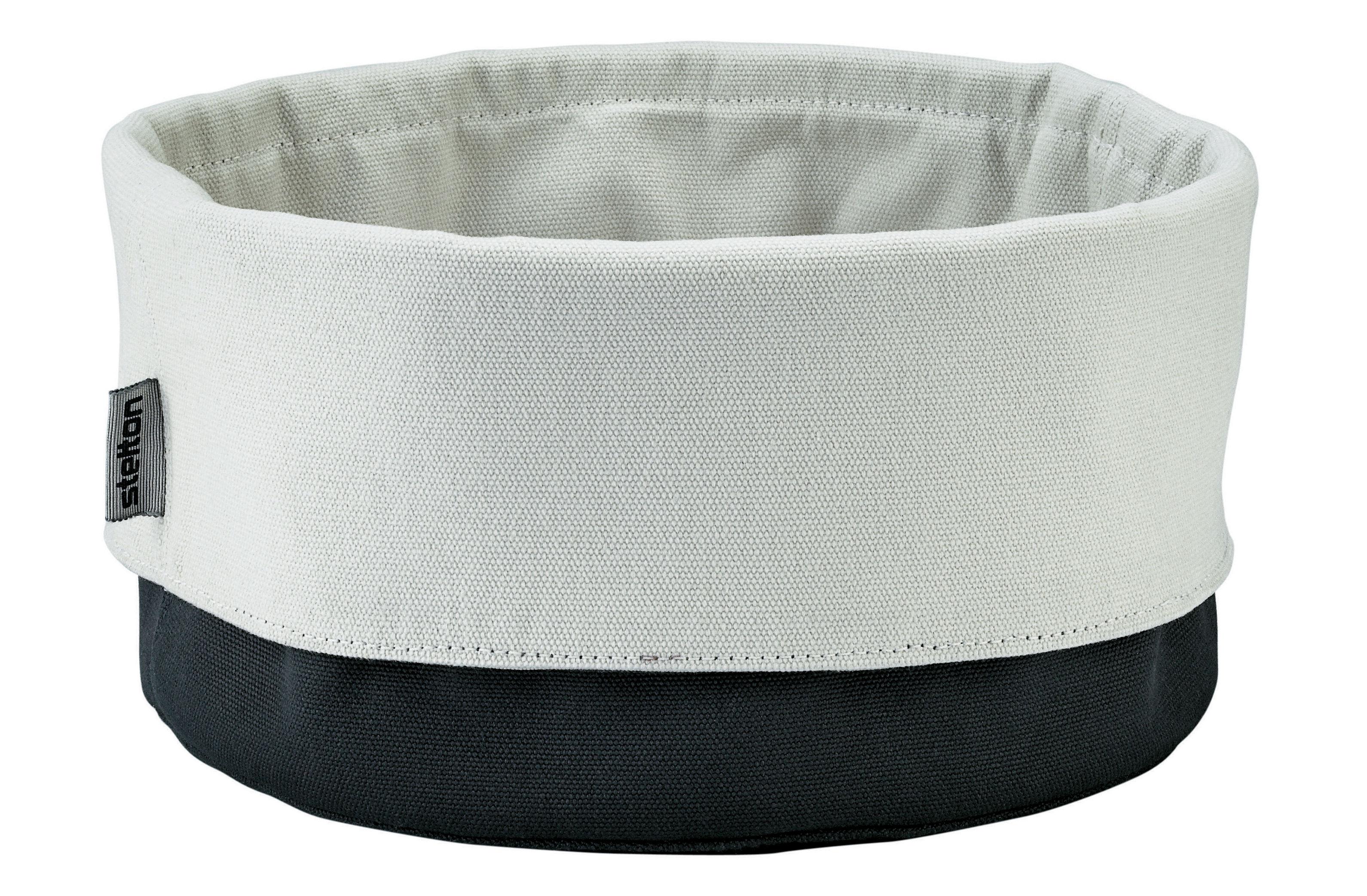 Tischkultur - Körbe, Fruchtkörbe und Tischgestecke - Bread Bag Brotkorb - Stelton - Schwarz / sandfarben - Coton biologique