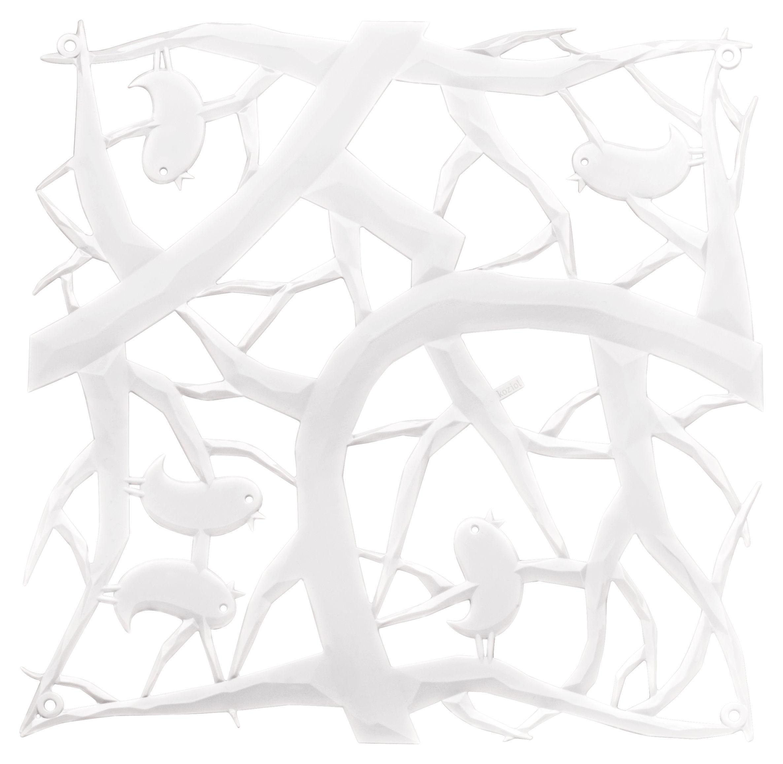 Mobilier - Paravents, séparations - Cloison PI:P / Set de 4 - Crochets inclus - Koziol - Blanc - Polycarbonate
