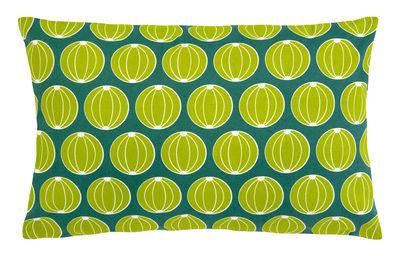 Coussin d´extérieur Envie d´ailleurs - Melons / 68 x 44 cm - Fermob vert jade en tissu