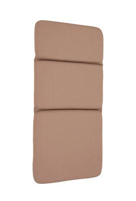 Outdoor - Chaises et fauteuils hauts - Coussin d'extérieur / Pour fauteuil bas Monceau - Fermob - Muscade - Mousse polyuréthane, Polyester