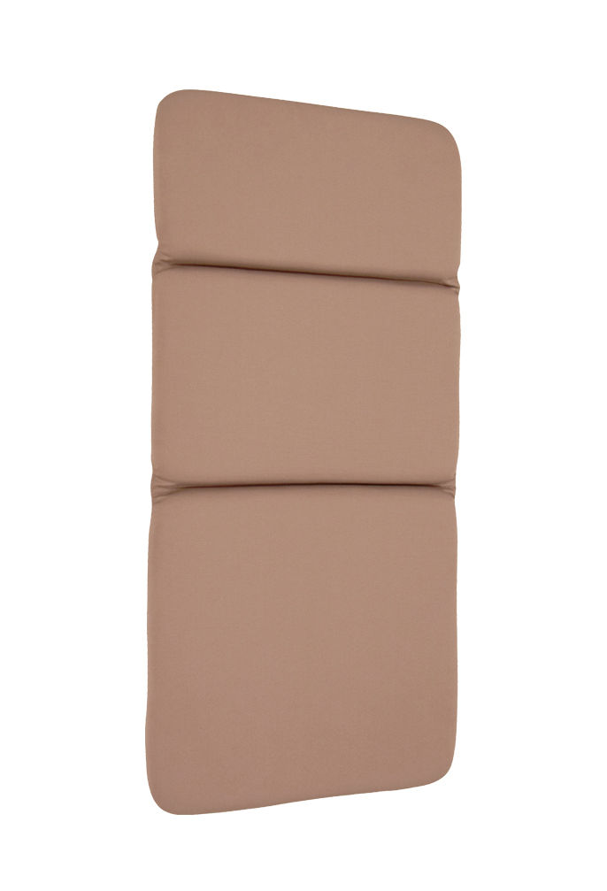 Outdoor - Chairs - Outdoor cushion - / For Monceau low armchair by Fermob - Nutmeg - Polyester, Polyurethane foam