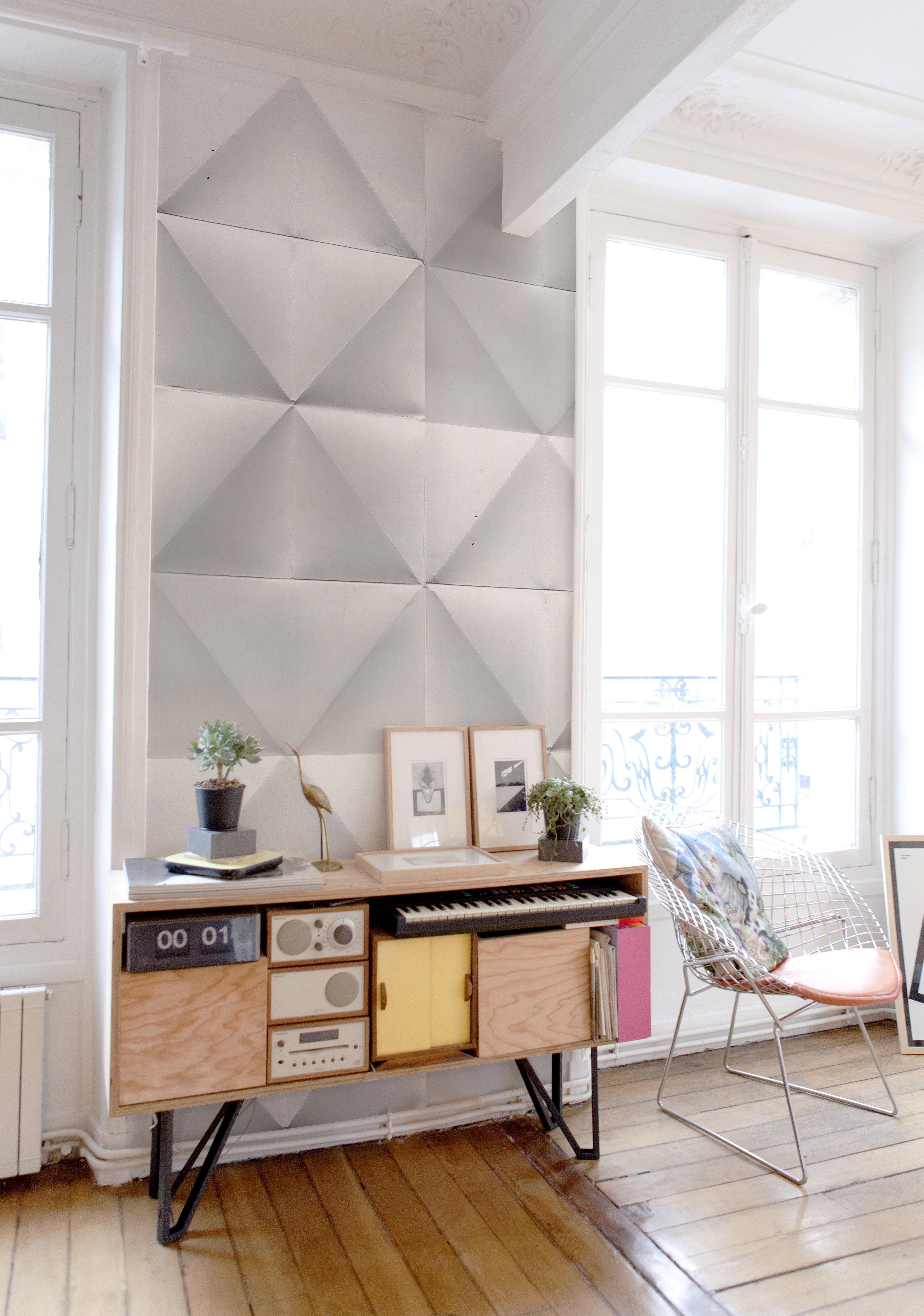 Papier Peint Panoramique Wallpaperlab Floating Domestic Blanc