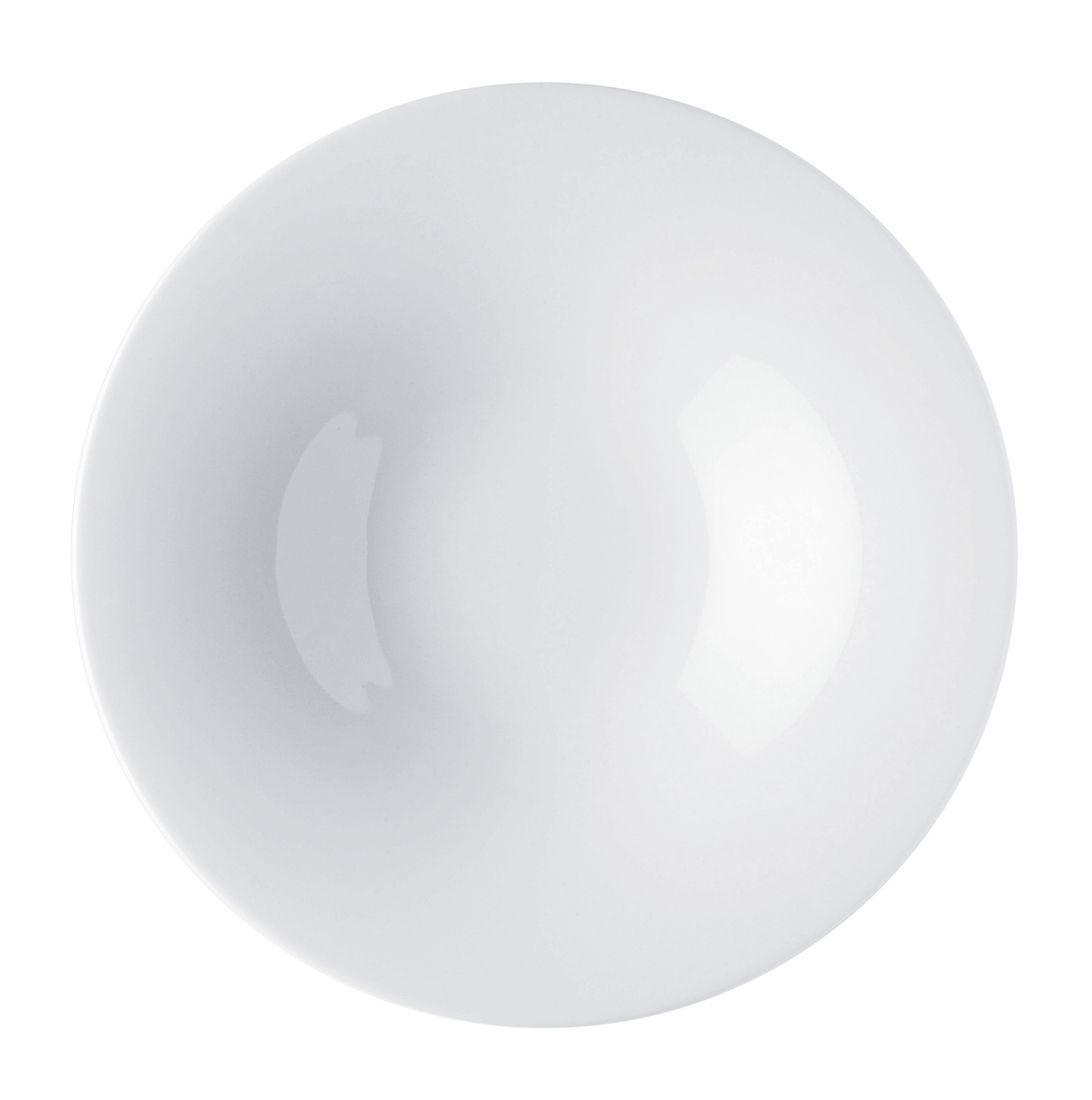 Tavola - Piatti  - Piatto fondo Ku - / Ø 23 cm - 32 cl di Alessi - 32 cl / Bianco - Porcellana