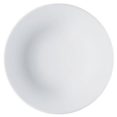 Tavola - Piatti  - Piatto Ku di Alessi - Bianco - Porcellana