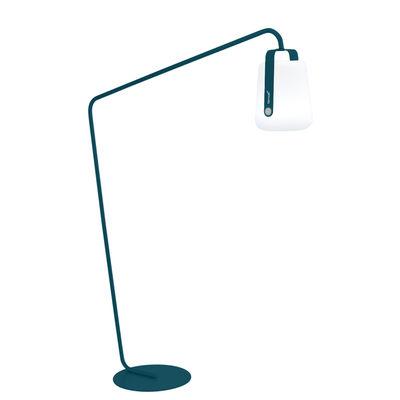 Luminaire - Lampadaires - Pied pour lampes Balad / Large H 190 cm - Déporté - Fermob - Bleu Acapulco - Acier peint