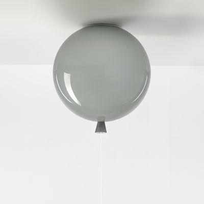 Image of Plafoniera Memory Medium - / Ø 30 cm - Vetro di Brokis - Grigio - Vetro