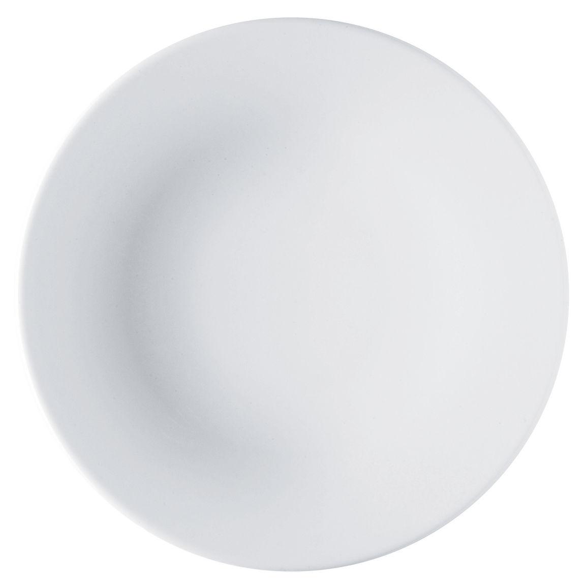 Tableware - Plates - Ku Plate by Alessi - White - China