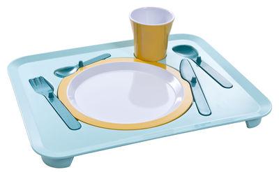 Arts de la table - Plateaux - Plateau repas Puzzle / Garçon - Royal VKB - Bleu - Mélamine