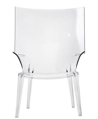 Arredamento - Poltrone design  - Poltrona Uncle Jim di Kartell - Cristallo - policarbonato