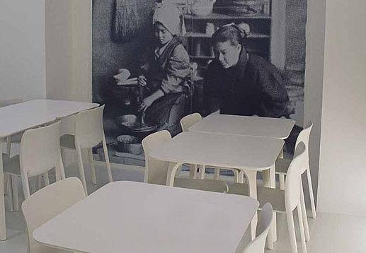 Scopri Sedia First Chair, Nero di Magis, Made In Design Italia