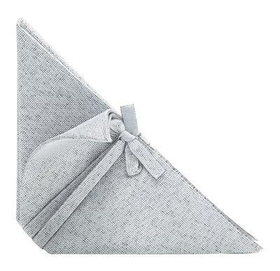 Serviette de table Iittala X Issey Miyake - Iittala gris clair en tissu