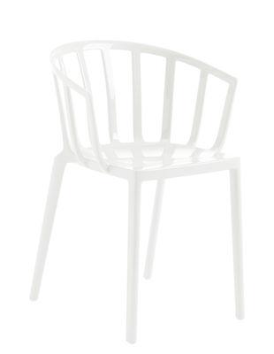 Generic AC Venice Stapelbarer Sessel / Polykarbonat - Kartell - Weiß