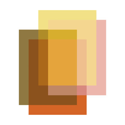 Interni - Tappeti - Tappeto Blended - / 4 colori - 250 x 300 cm di Moooi Carpets - Arancione Caramella - Poliammide