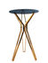 Tavolo bar alto Gold & glass - / Ø 70 x H 100 cm di Pols Potten