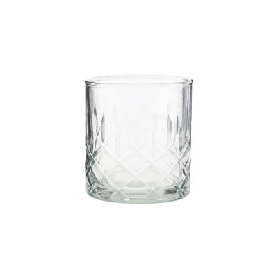 Tableware - Wine Glasses & Glassware - Vintage Whisky glass - / Engraved glass by House Doctor - Transparent - Engraved glass