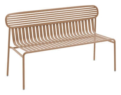 Banc Avec Dossier Week End Oxyo Gres L 121 X H 72 Made In Design