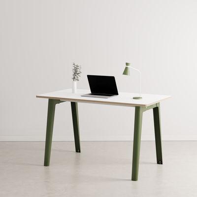 Bureau New Modern / 130 x 70 cm - Stratifié - TIPTOE vert en métal/bois
