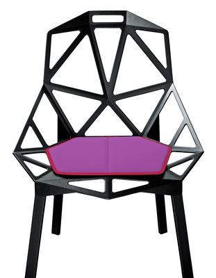 Coussin d'assise / Pour Chair One - Magis fuchsia en tissu