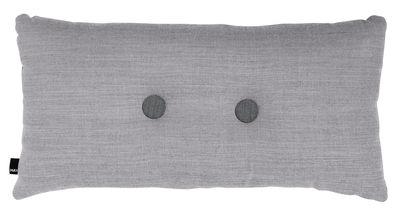 Coussin Dot - Surface / 70 x 36 cm - Hay gris clair en tissu