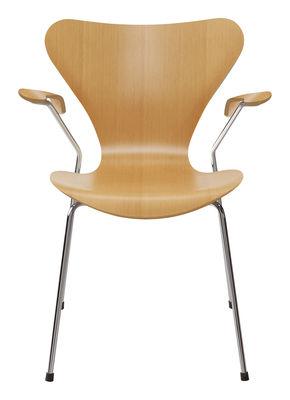 Chaise Série 7 Bois naturel - Fritz Hansen pin en bois