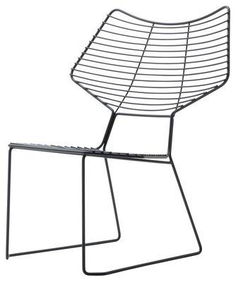 Möbel - Lounge Sessel - Alieno Lounge Sessel - Casamania - Schwarz - lackiertes Metall