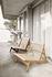 MR01 Initial Lounge-Sessel / Eiche & Seil - Gubi
