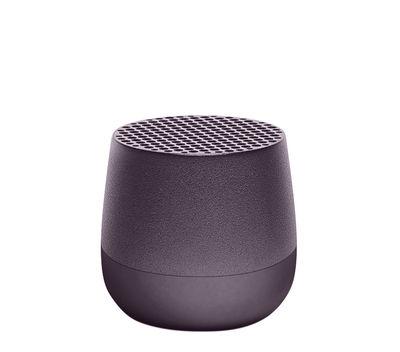 The Christmas shop - Low-priced gifts - Mino Mini Bluetooth speaker - / Wireless - USB charging by Lexon - Gun grey - ABS, Aluminium