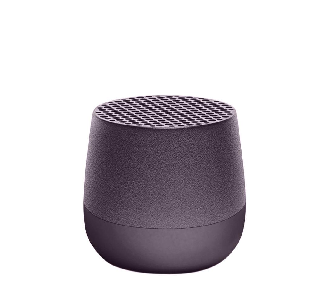 La boutique de Noël - Les petits prix - Mini enceinte Bluetooth Mino / Sans fil - Recharge USB - Lexon - Gris gun - ABS, Aluminium