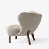 Little Petra VB1 Padded armchair - / 1938 reissue by &tradition