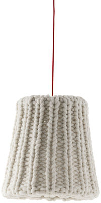 Lighting - Pendant Lighting - Granny Large Pendant by Casamania - Off white-ecru - Wool