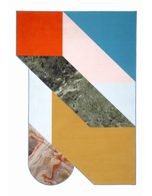 Decoration - Rugs - Kartell Carpet Rug - / 300 x 200 cm by Kartell - Multicoloured - Polypropylene