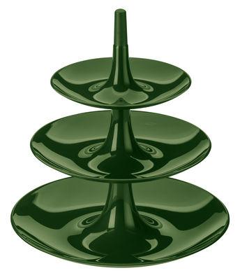 Arts de la table - Plats - Serviteur Babell / Ø 31,4 x H 34 cm - Koziol - Vert forêt - PMMA