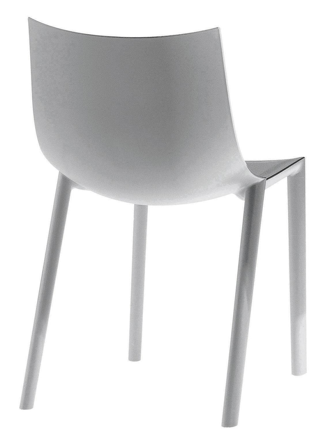 Möbel - Stühle  - Bo Stapelbarer Stuhl - Driade - Grau - Polypropylen