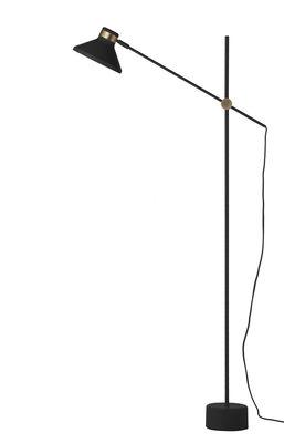 Mr Stehleuchte / Metall - H 140 cm - Frandsen - Schwarz mattiert