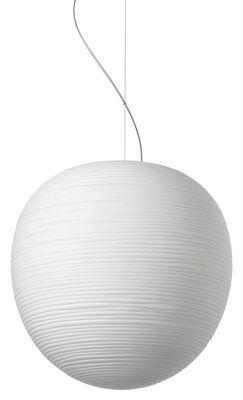 Suspension Rituals XL / Ø 40 x H 41 cm - Foscarini blanc en verre