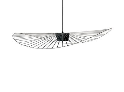 Suspension Vertigo Large / Ø 200 cm - Petite Friture noir en matière plastique