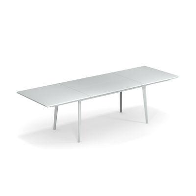 Table à rallonge Plus4 / Acier - 160 à 270 cm - Emu blanc en métal