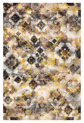 Déco - Tapis - Tapis Digit Glow / 300 x 200 cm - Moooi Carpets - Tons jaunes - Polyamide