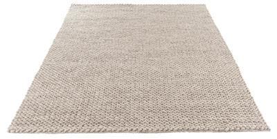 Déco - Tapis - Tapis Loop / 140 x 200 cm - Fait main - Bolia - Gris clair - 100% laine