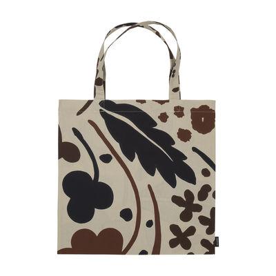 Accessories - Bags, Purses & Luggage - Suvi Tote bag - / Cotton by Marimekko - Suvi / Beige & brown - Cotton