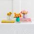 Vase Bel Air Mini Scoop / Acrylique - Carré L 10 cm - Jonathan Adler
