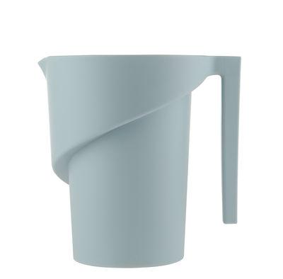 Verre doseur Twisted - Alessi bleu clair en matière plastique