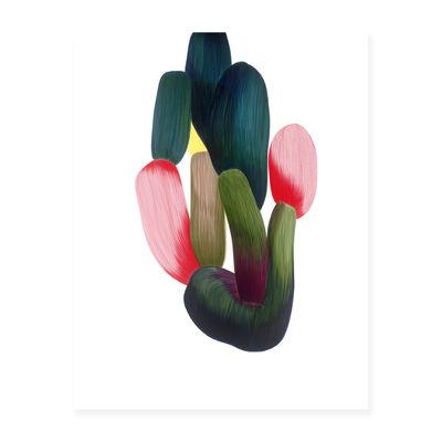 Déco - Stickers, papiers peints & posters - Affiche Ronan Bouroullec - Drawing 15 / 86,5 x 67,5 cm - The Wrong Shop - Drawing 15 / Multicolore - Papier premium