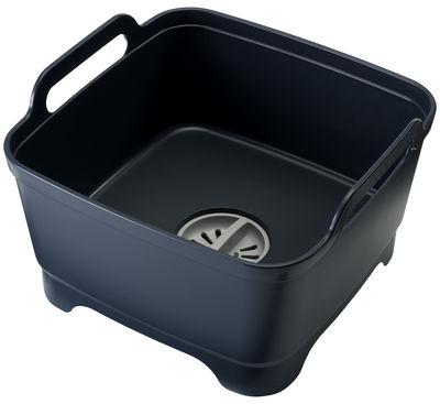 Cuisine - Vaisselle et nettoyage - Bac à vaisselle Wash&Drain / Avec système d'évacuation - Joseph Joseph - Gris - Polypropylène