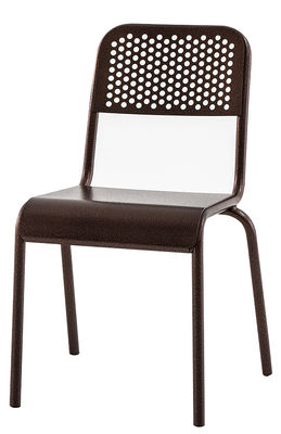 Furniture - Chairs - Nizza Chair by Diesel with Moroso - Copper - Varnished aluminium with copper finish