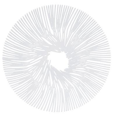 Arts de la table - Corbeilles, centres de table - Coupe à fruits Anemone / Ø 32,8 cm - Koziol - Blanc opaque - Matière plastique