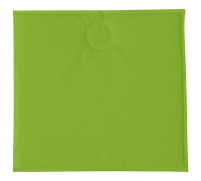 Coussin d'assise magnétique / 39 x 37 cm - Emu vert en tissu