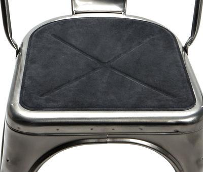 Interni - Cuscini  - Cuscino per seduta - / sistema magnetico per sedia A e poltrona A56 di Tolix - Antracite - Tessuto
